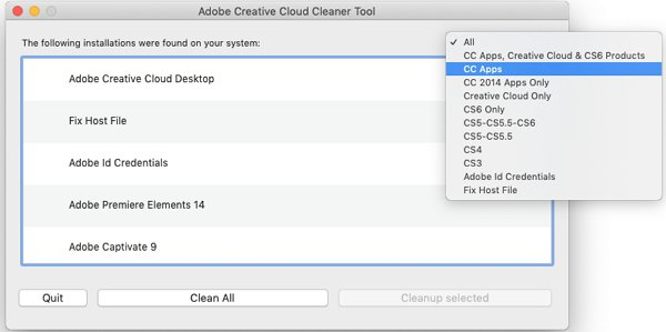 Adobe Creative Cloud Cleaner for Windows