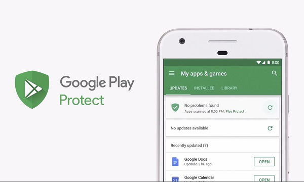 Android O Google Play Protect