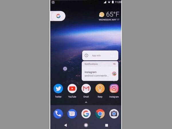 Android O Notification Dot