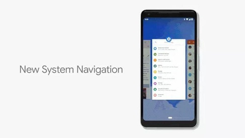 Android P Gesture Navigation System