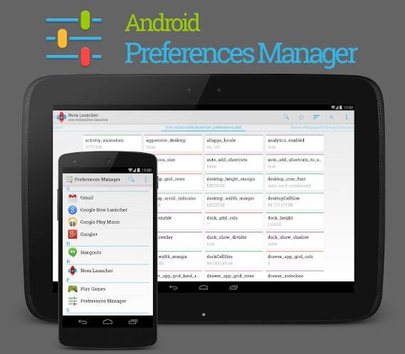 Android Preference Manager
