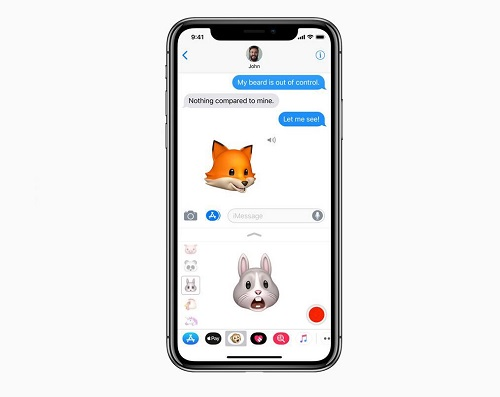 Animoji Message