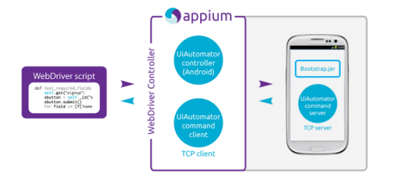 Appium Interaction With Android