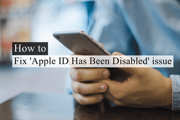 Fixes to Apple ID Disable