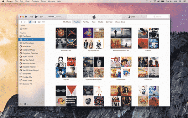 Apple Music in iTunes for Windows