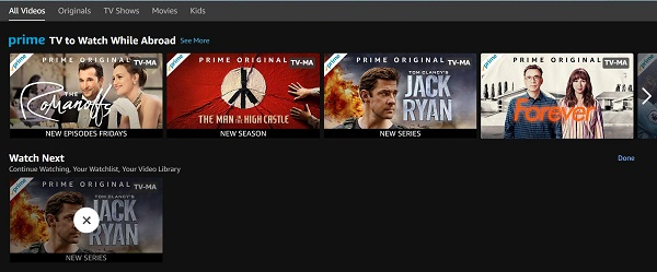 Clear Amazon Prime Video Recommendations