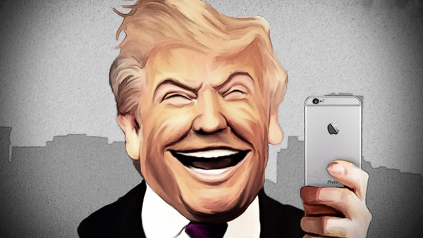 Donald Trump Bashs iPhone