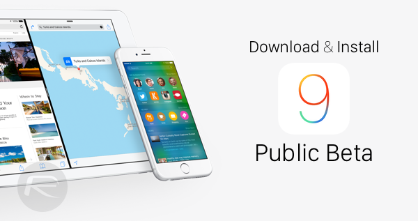 Download and Install iOS 9 Beta