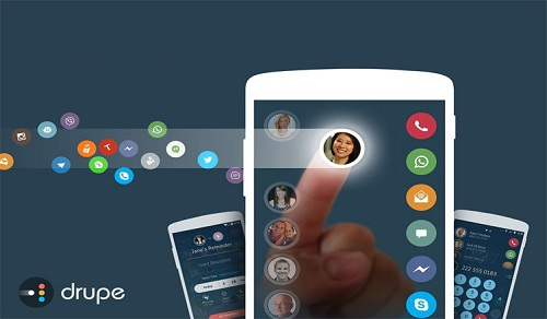 Drupe Best Contacts And Dialer App