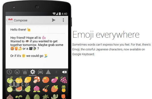 Emojis in Android