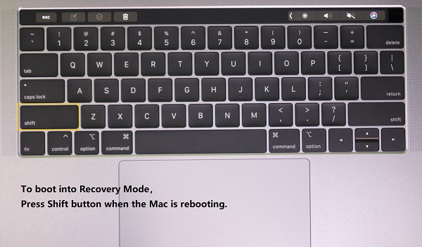 Enter Safe Mode on MacBook