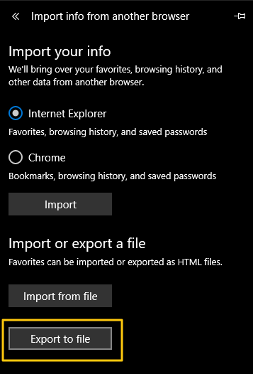 How to Import Bookmarks from Microsoft Edge to Chrome