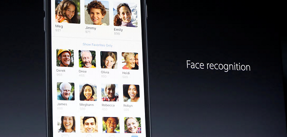 iOS 10 Face Recognition