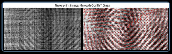 Fingerprint Images Through Gorilla Glass