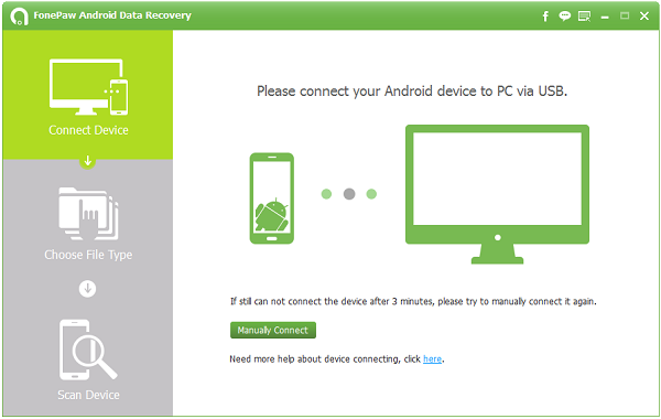 FonePaw Android Data Recovery Version 1.3.0