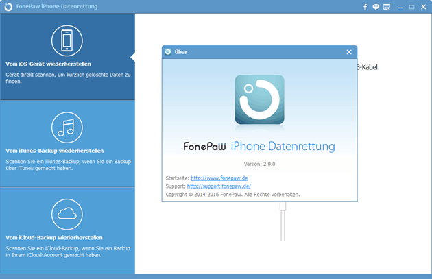 FonePaw iPhone Data Recovery V2.9.0