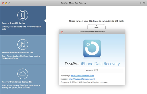 iPhone Data Recovery Mac 1.7.0