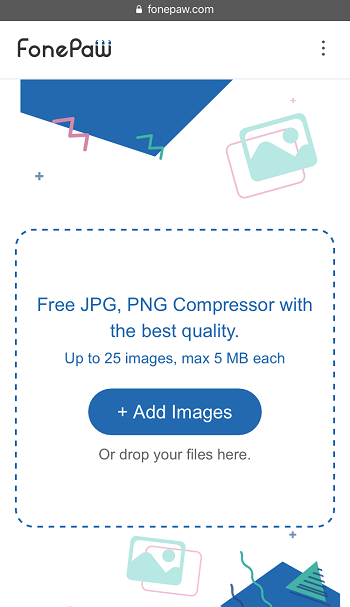 FonePaw Photo Compressor