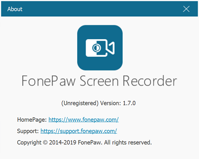 FonePaw Screen Recorder 1.7.0