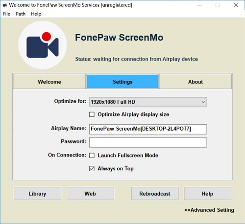ScreenMo Homepage