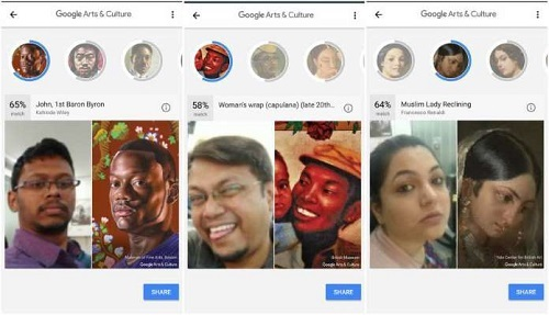 Google Arts And Culture Selfiles Feature
