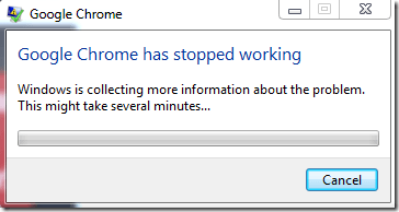 Google Chrome Not Working