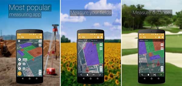 GPS Fields Area Measure