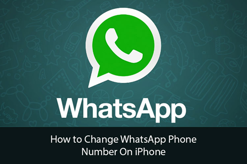 Change WhatsApp Phone Number on iPhone