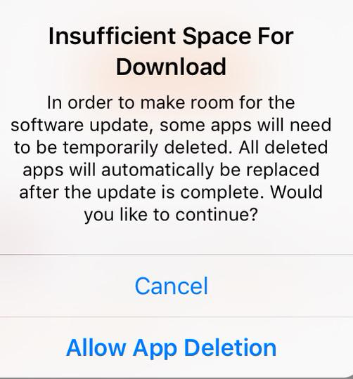 iOS 9 Delete Apps Automatically