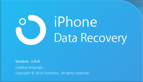 FonePaw iPhone Data Recovery 3.0.0
