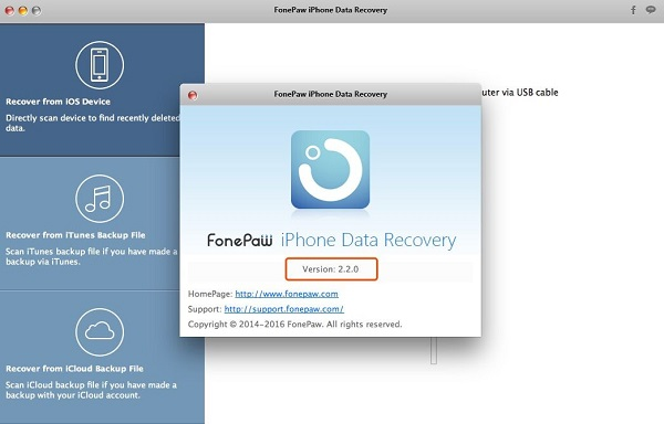 New Version of iPhone Data Recovery