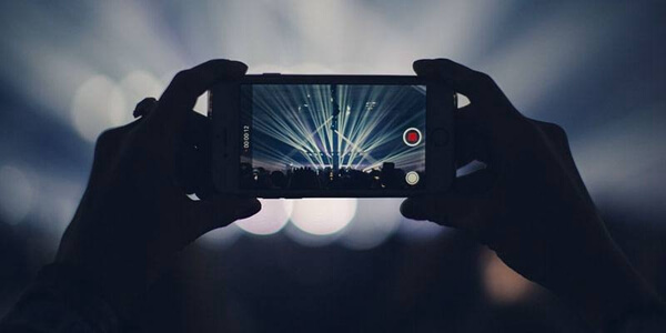Use iPhone Shoot Videos