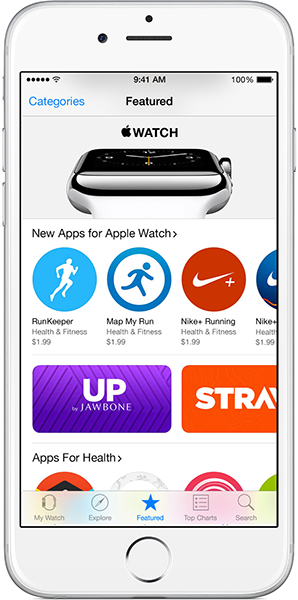 iPhone Watch App Store