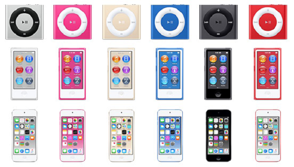 iPod New Colors