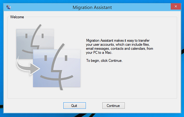 Migration Assistant Mac