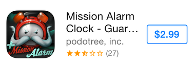 Mission Alarm Clock