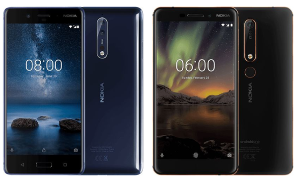 Nokia 8 Sirocco Display