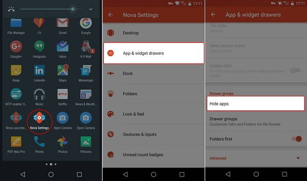 How to Hide Apps on Android without Rooting or Launcher