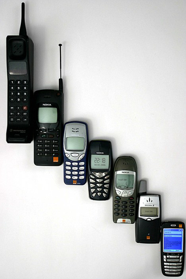 Phones in the Past