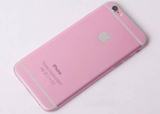 Pink iPhone 6s Back