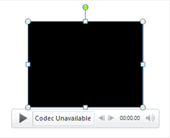PowerPoint Codec Unavailable