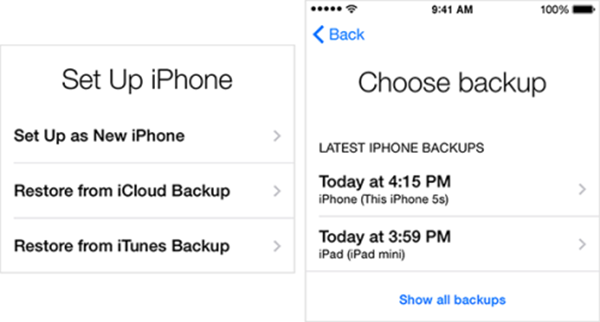 Recover Data from iPhone Backup