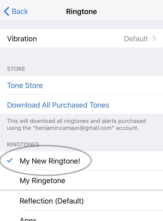 Set Custom Ringtone On IPhone