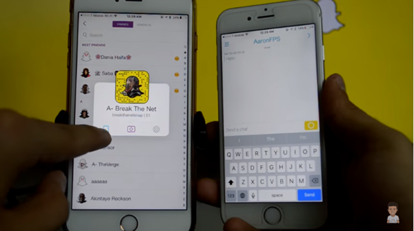 Solved How to FacetimeVideo Chat on Snapchat