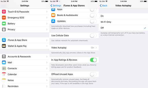 Stop Video AutoPlay on App Store