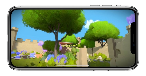 The Witness for iPhone X
