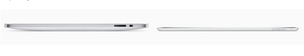 Thinner Body of iPad Air 3