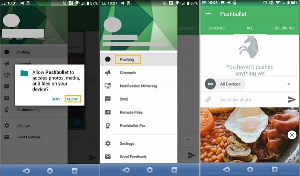 Transfer Android Files With Pushbullet