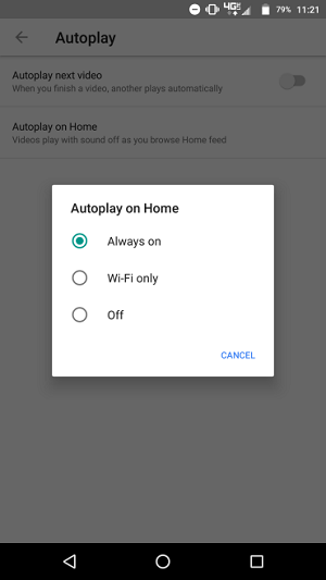 Turn Off YouTube Autoplay on Android
