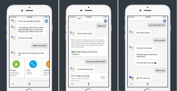 Use Google Assistant on iPhone